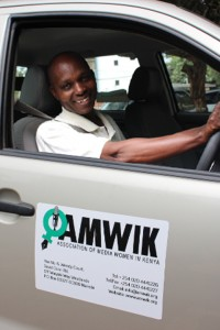Driver Lawrence Muriithi
