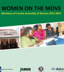 Women on the Move- Kisumu MCAs Profile