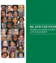 86 and Counting: Women Leaders in the 11th Parliament
