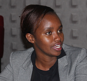 Nancy Gathoni, an Advocate with the Womens' Empowerment Link