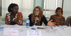 Aisha Khan, a mentee from USIU-Africa makes a contribution