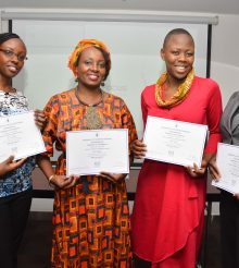 AMWIK Members Graduate from WIN Program