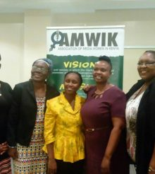 NEW BOARD TAKES OVER AT AMWIK